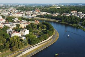 Vistula River, Krakow, Malopolska, Poland, Europe by Christian Kober
