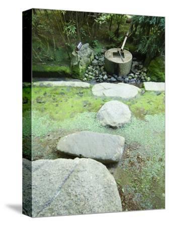 Water Fountain at Ryoanji Temple, Kyoto, Japan