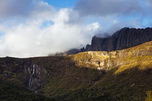 Waterfall, Andringitra National Park, Ambalavao, central area, Madagascar, Africa by Christian Kober