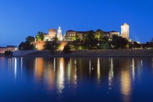 Wawel Hill Castle and Cathedral by Christian Kober