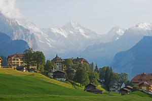 Wengen, Bernese Oberland, Swiss Alps, Switzerland, Europe by Christian Kober