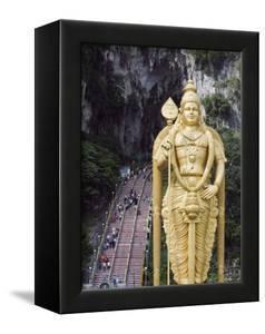 Worlds Tallest Statue of Murugan, a Hindu Deity, Batu Caves, Kuala Lumpur, Malaysia, Southeast Asia by Christian Kober