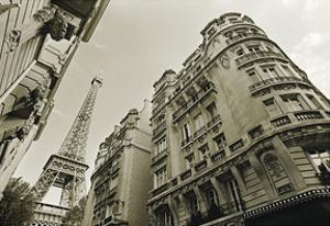 Eiffel Tower Street View #2 by Christian Peacock
