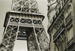 Eiffel Tower Street View #3 by Christian Peacock