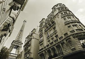 Eiffel Tower Street View, no. 2 by Christian Peacock