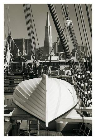Lifeboat and San Francisco Skyline