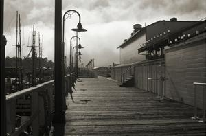 San Francisco Pier with Incoming Fog by Christian Peacock
