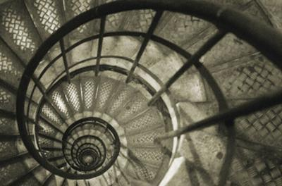 Spiral Staircase in Arc de Triomphe by Christian Peacock