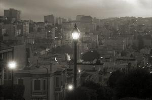 Street Lamp in Russian Hill by Christian Peacock