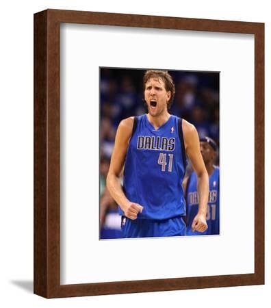 Dallas Mavericks v Oklahoma City Thunder - Game Three, Oklahoma City, OK - MAY 21: Dirk Nowitzki