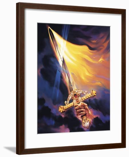 Christian Sword of Spirit-Jeff Haynie-Framed Giclee Print
