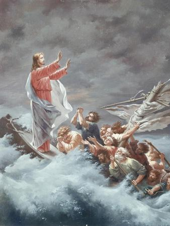 Christ Stilling the Tempest