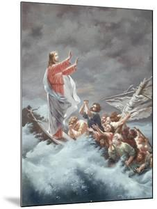 Christ Stilling the Tempest by Christian W.e. Dietrich
