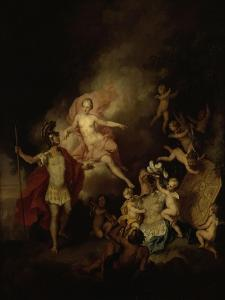 Venus and Aeneas by Christian W.e. Dietrich
