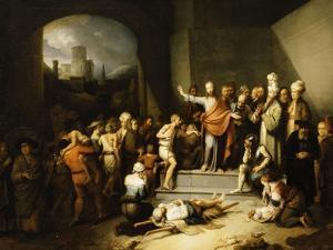 Christ Healing the Sick by Christian Wilhelm Ernst Dietrich