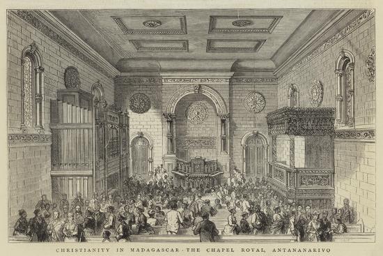 Christianity in Madagascar, the Chapel Royal, Antananarivo--Giclee Print