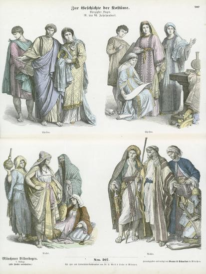 Christians and Arabs, 4th-6th Century--Giclee Print