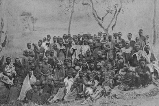 'Christians at Kisokwe', 1901-Unknown-Photographic Print