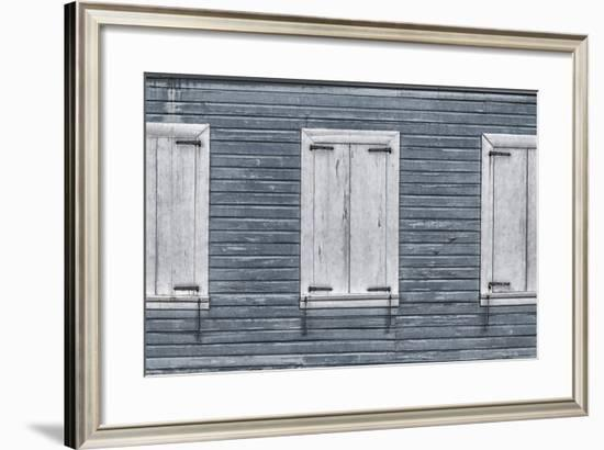 Christiansted, Saint Croix, Us Virgin Islands. Window Shutters-Janet Muir-Framed Photographic Print