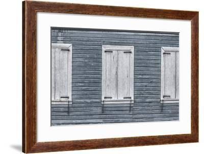 Christiansted, Saint Croix, Us Virgin Islands. Window Shutters-Janet Muir-Framed Photographic Print
