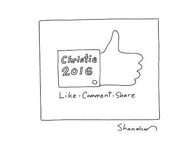 Christie 2016 - Cartoon-Danny Shanahan-Premium Giclee Print