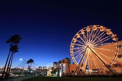 Night Photography: Long Beach, Los Angeles, California