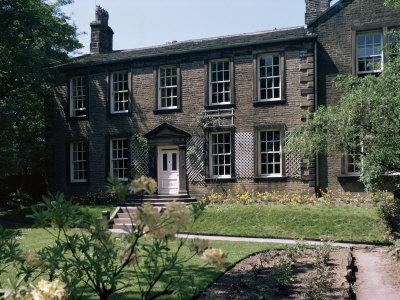 Bronte Vicarage (Parsonage), Haworth, Yorkshire, England, United Kingdom