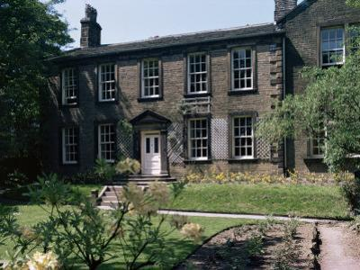Bronte Vicarage (Parsonage), Haworth, Yorkshire, England, United Kingdom