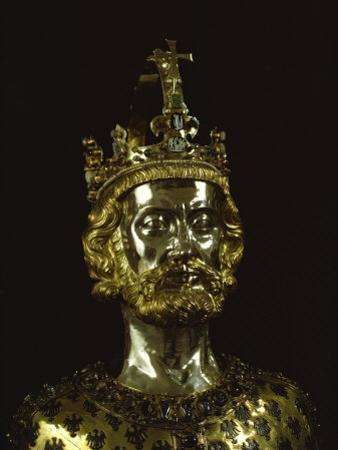 Charlemagne, Dating from around 1350, Aachen, Germany, Europe
