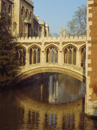 The Bridge of Sighs, St. John's College, Cambridge, Cambridgeshire, England, UK