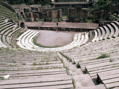 The Great Theatre, Pompeii, Unesco World Heritage Site, Campania, Italy