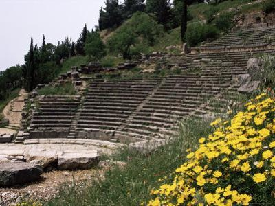 The Theatre, Delphi, Unesco World Heritage Site, Greece