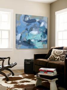 Abstract Blues I by Christina Long