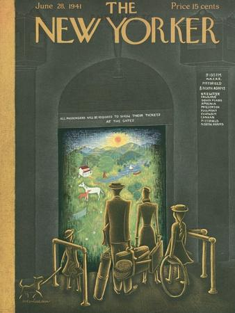 The New Yorker Cover - June 28, 1941