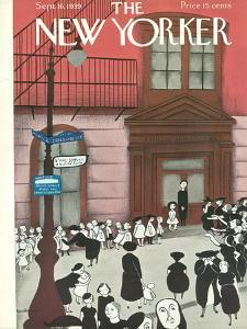 The New Yorker Cover - September 16, 1939 by Christina Malman