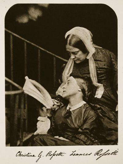 Christina Rossetti and Her Mother Frances Rossetti, 7th October 1863-Charles Lutwidge Dodgson-Giclee Print