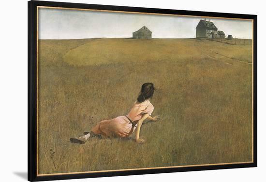 Christina's World-Andrew Wyeth-Framed Art Print