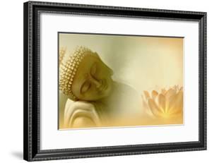 Buddha III by Christine Ganz