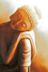 Resting Buddha II by Christine Ganz
