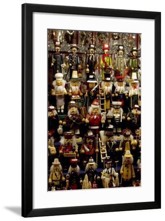 Christkindelsmarkt (Christ Child's Market, Christmas Market), Nuremberg, Germany-Natalie Tepper-Framed Photo