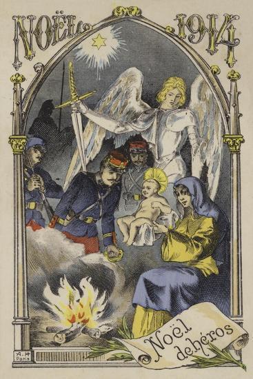 Christmas 1914--Giclee Print