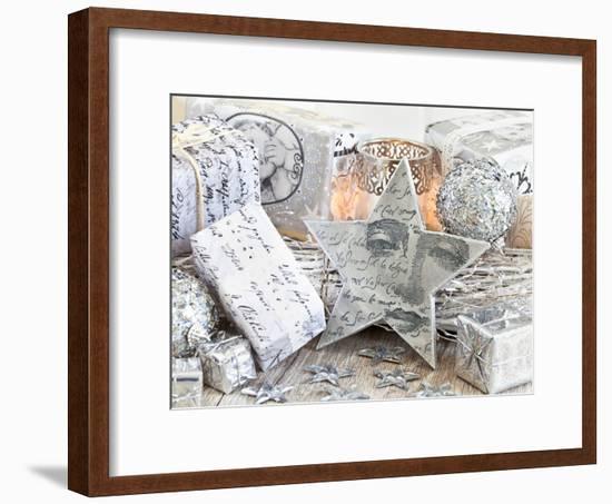 Christmas 3-Lebens Art-Framed Art Print