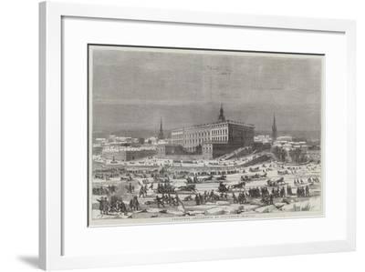 Christmas Amusements at Stockholm--Framed Giclee Print