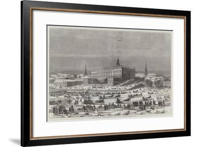 Christmas Amusements at Stockholm--Framed Giclee Print