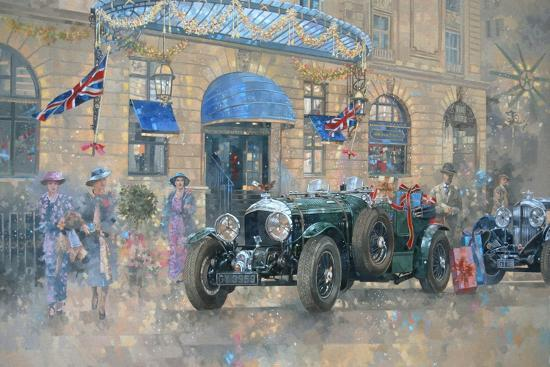 Christmas at the Ritz-Peter Miller-Giclee Print
