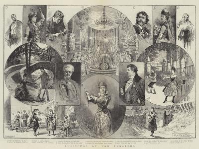 Christmas at the Theatres-Thomas Harrington Wilson-Giclee Print