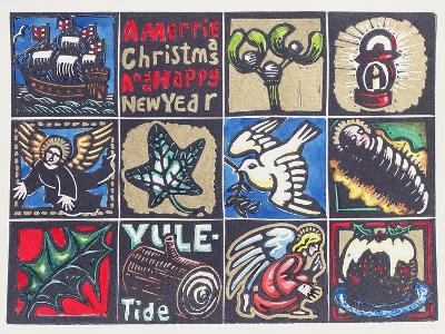 Christmas Card, 1999-Karen Cater-Giclee Print