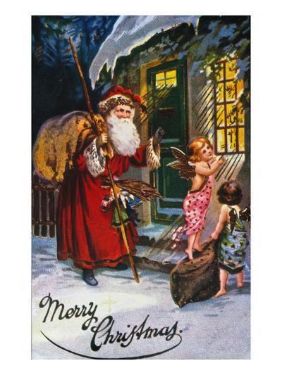 Christmas Card--Giclee Print