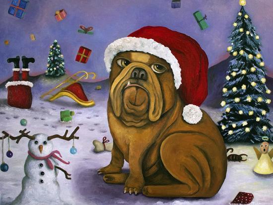 Christmas Crash-Leah Saulnier-Giclee Print