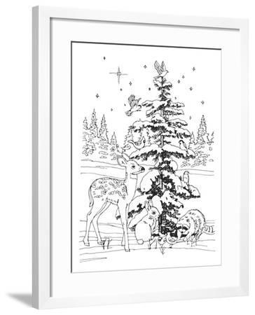 Christmas Cuties 21-William Vanderdasson-Framed Giclee Print
